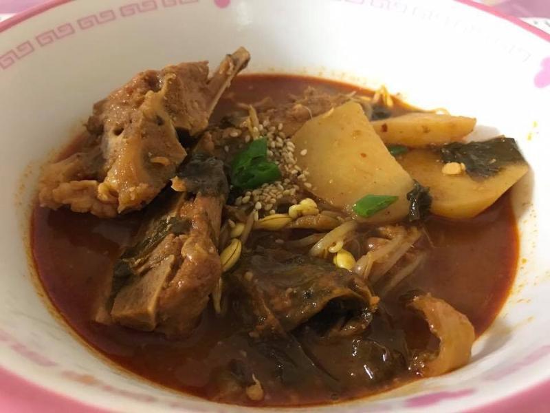 韓國馬鈴薯排骨湯