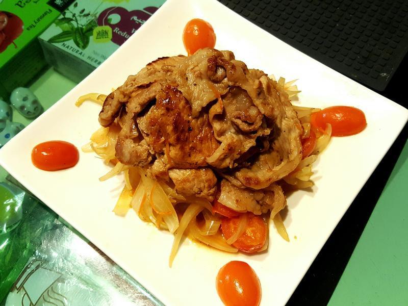 泰泰風洋蔥燒肉
