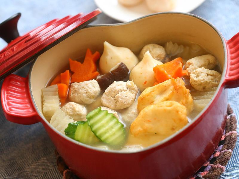 雞肉丸鮮蔬鍋