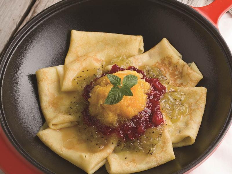 【摩堤 鑄鐵鍋料理】法式可麗餅佐自製果醬