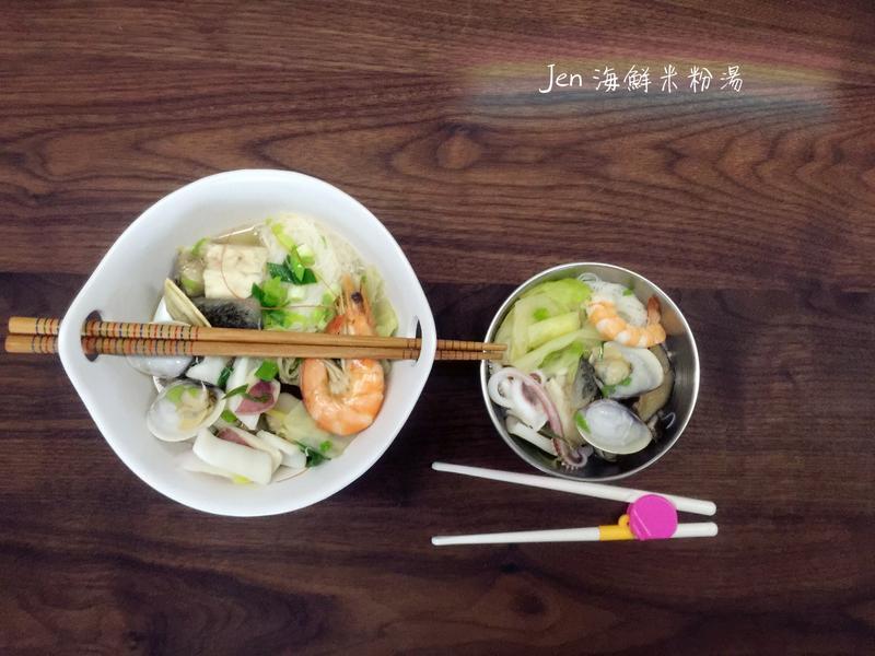 海鮮米粉湯