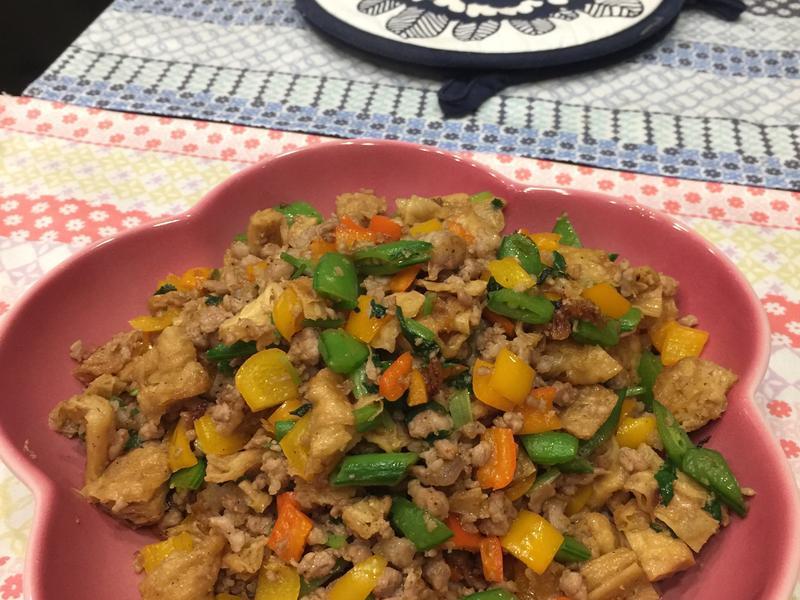 超下飯❣肉燥炒彩椒