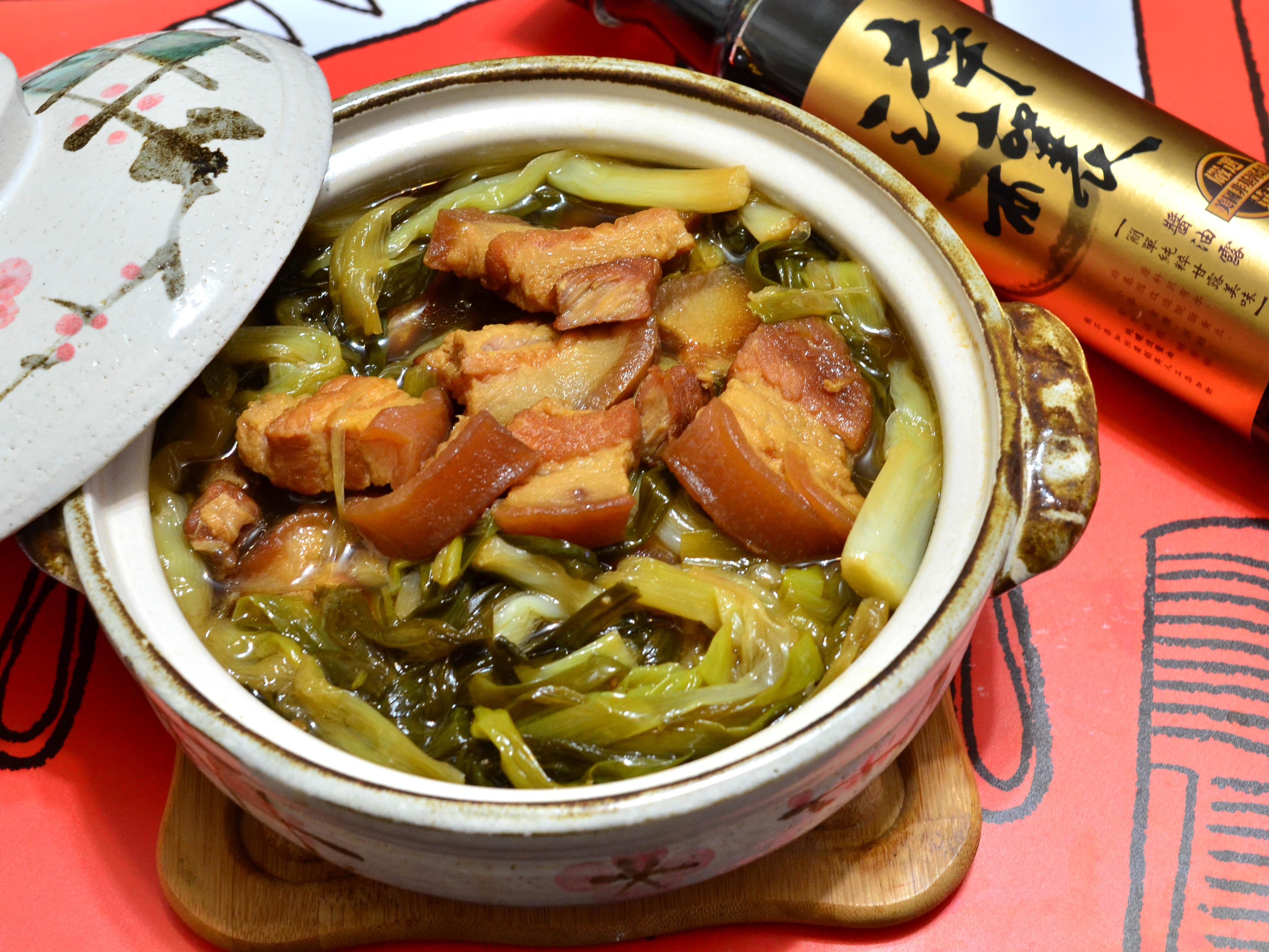 蔥燉五花肉【淬釀手路菜】