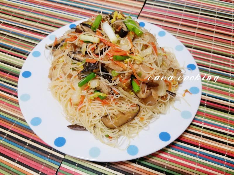 大白菜炒米粉
