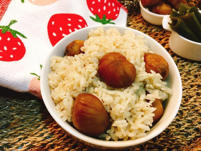 日式栗子飯