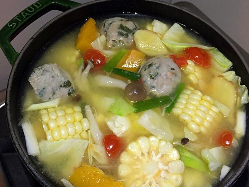 味噌蔬菜鍋