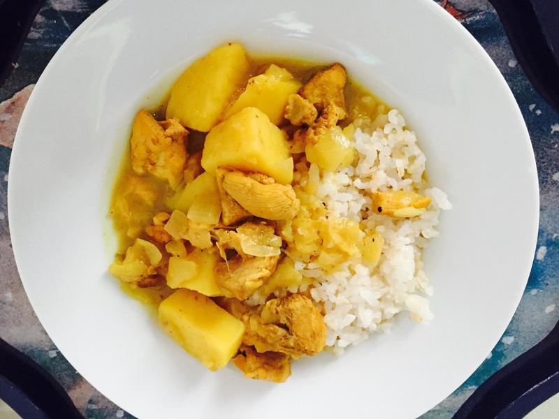 ✨留學生食譜✨馬鈴薯雞肉咖哩