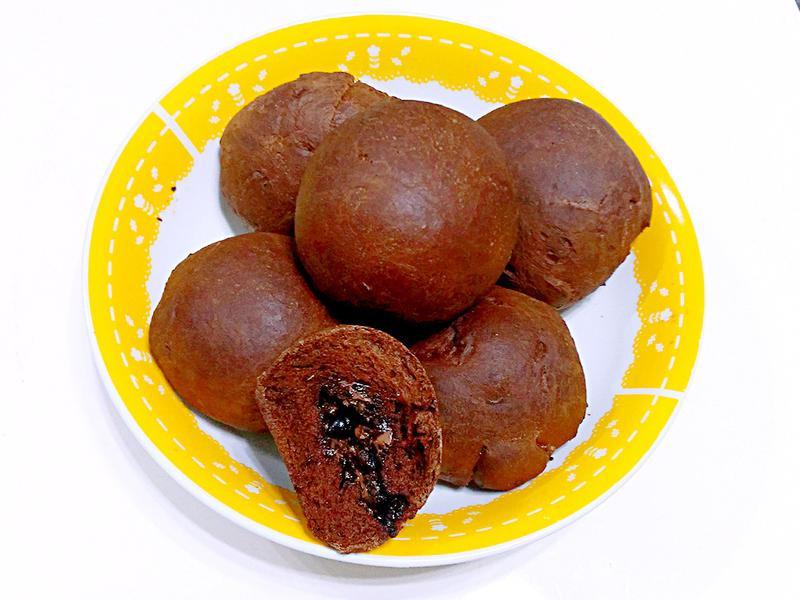 【麵包機料理】爆漿榛果巧克力小餐包