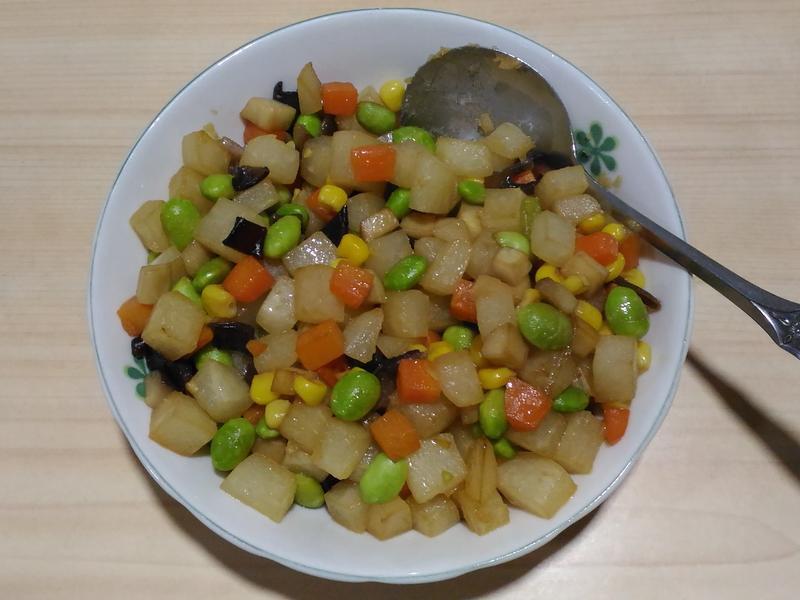 豆薯五色彩丁