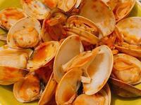 紅醬蛤蜊麵