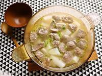 大頭菜貢丸湯