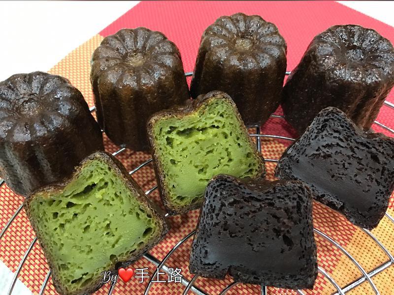 法式甜點《可麗露》巧克力、抹茶口味