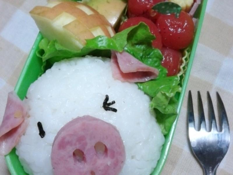 「親子食堂」小豬