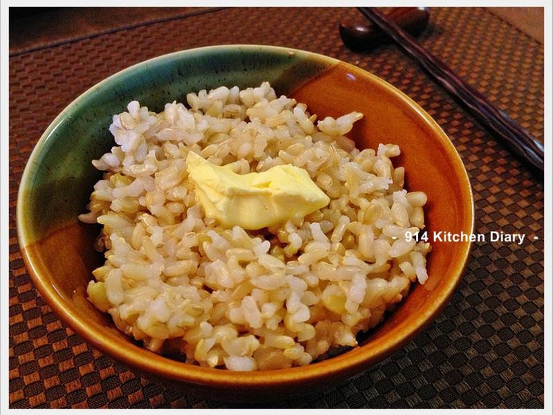【深夜食堂】奶油糙米拌飯