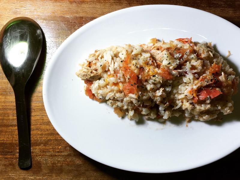 番茄鮪魚燉飯