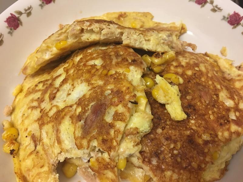 鮪魚玉米蛋