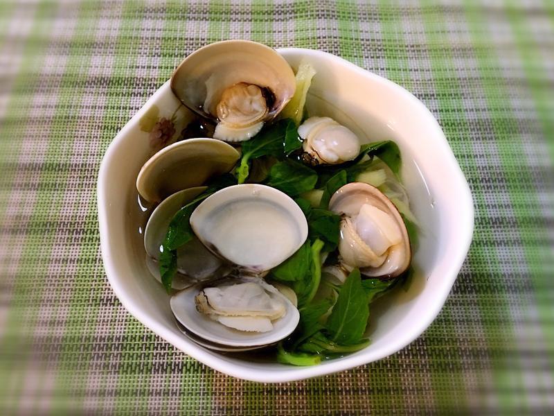 鮮美好味《蛤蜊清湯》