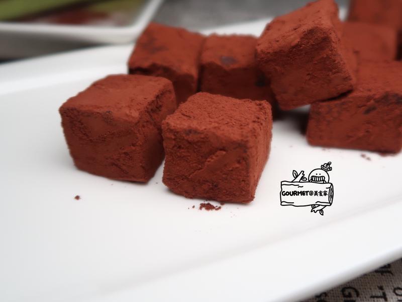 雙味生巧克力(抹茶內餡)