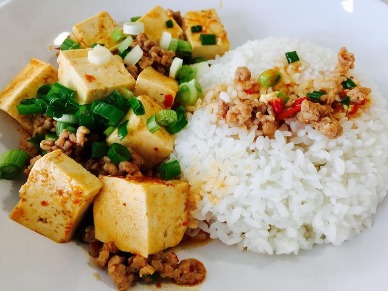 十分鐘上菜👉🏼麻婆豆腐飯
