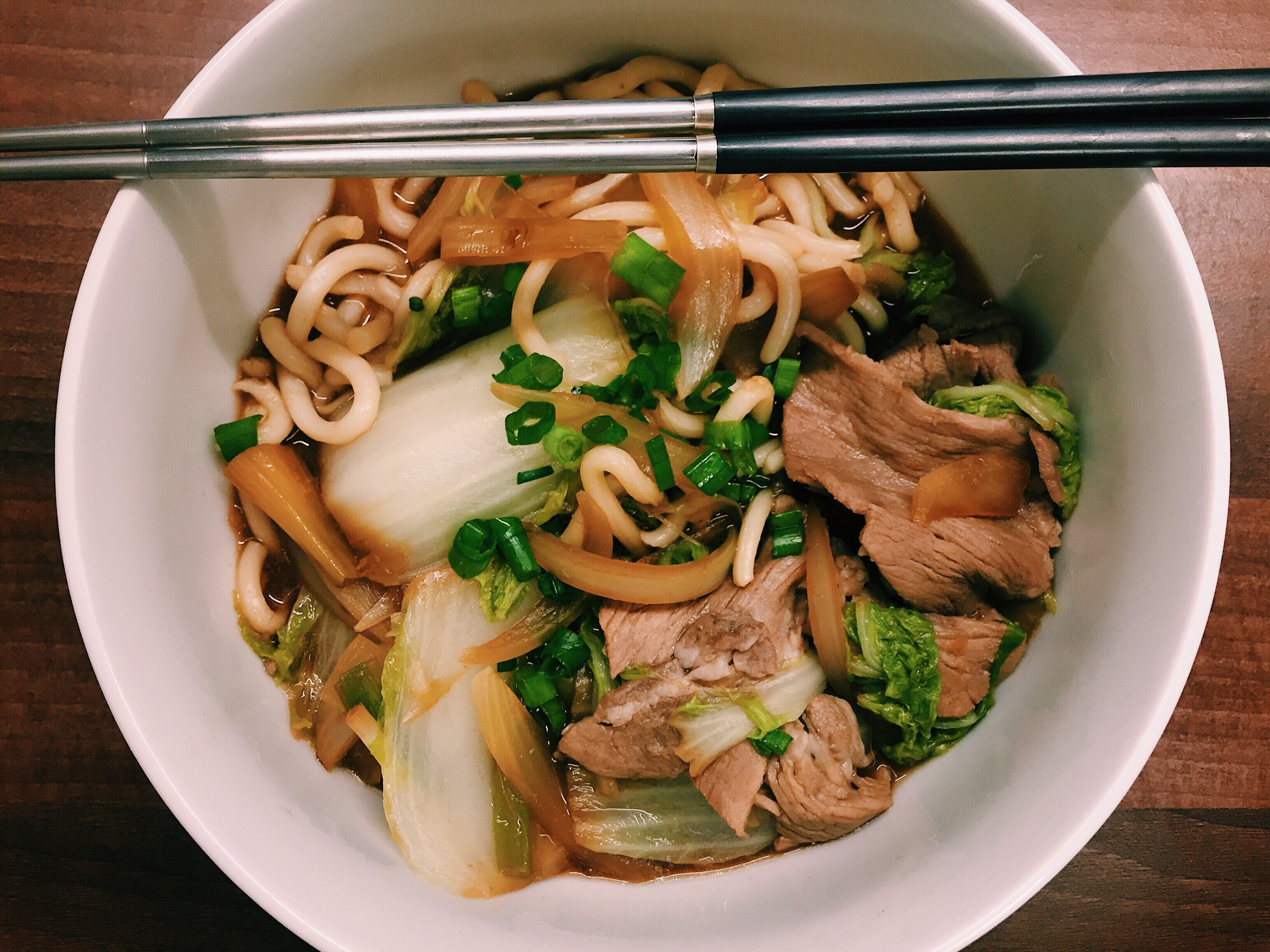 十分鐘上菜👉🏼壽喜燒烏龍麵