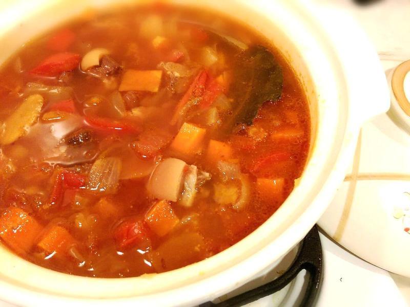蕃茄羊肉湯「史雲生美味輕鬆料理」
