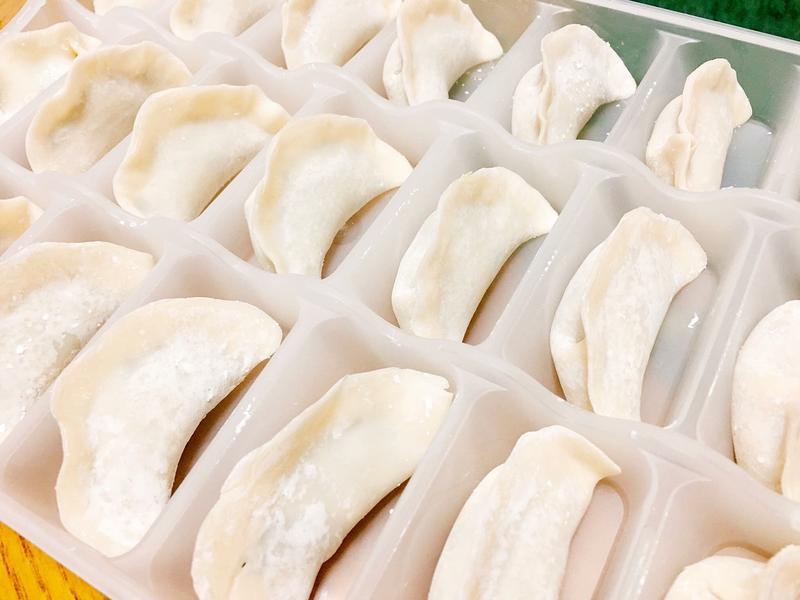 幸福韭韭水餃(含水餃包法分解圖)
