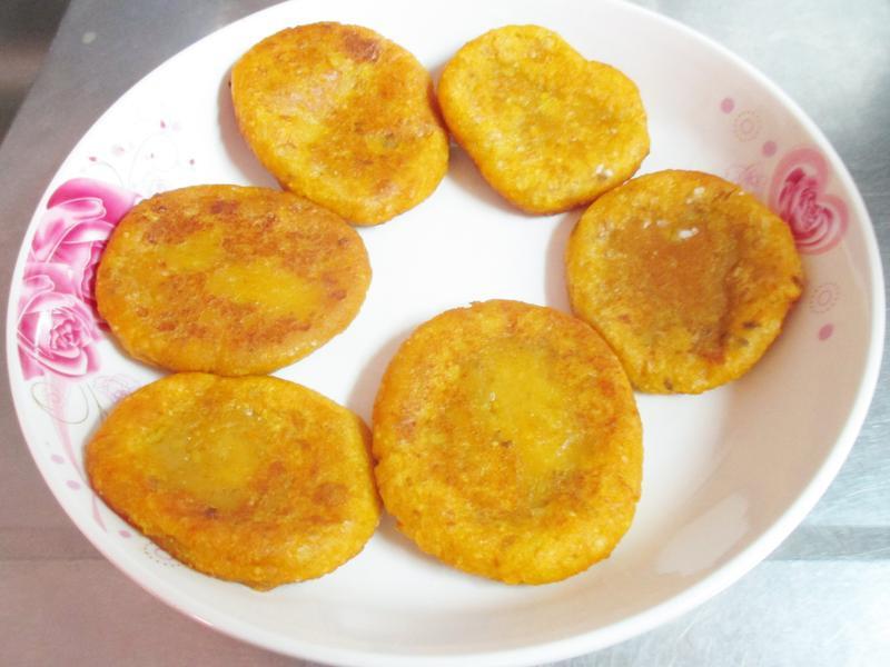 簡易地瓜餅