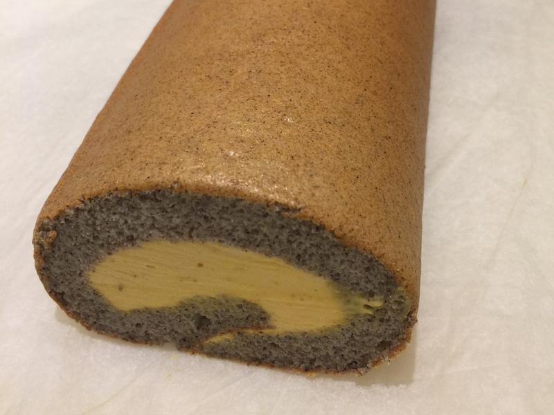 黑糙米南瓜蛋糕卷
