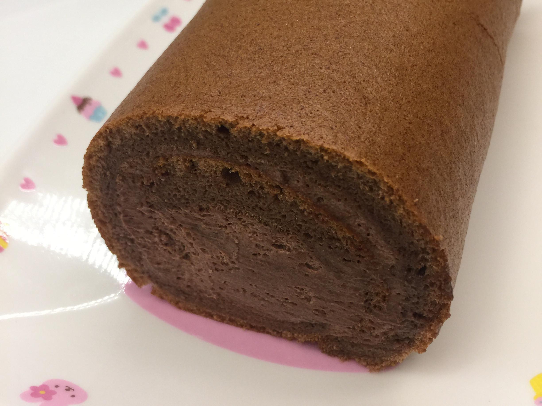可可蓬萊米粉蛋糕卷