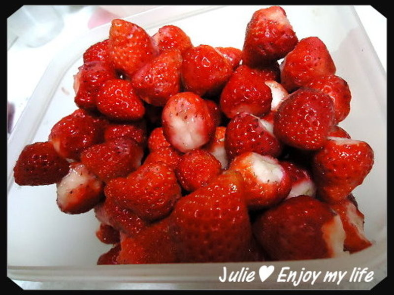 自製草莓果醬