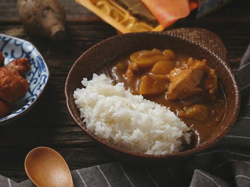 地瓜咖哩飯