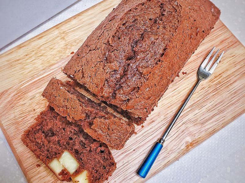 巧克力乳酪塊磅蛋糕(小型)