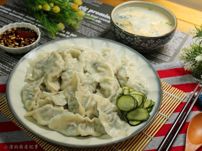 菠菜豬肉水餃