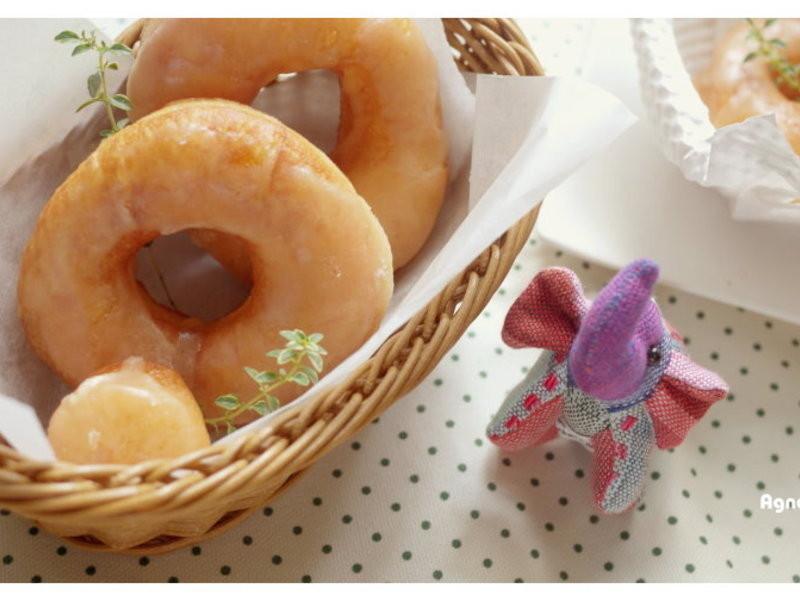 [阿妮塔♥bread] 鬆軟金色甜甜圈。