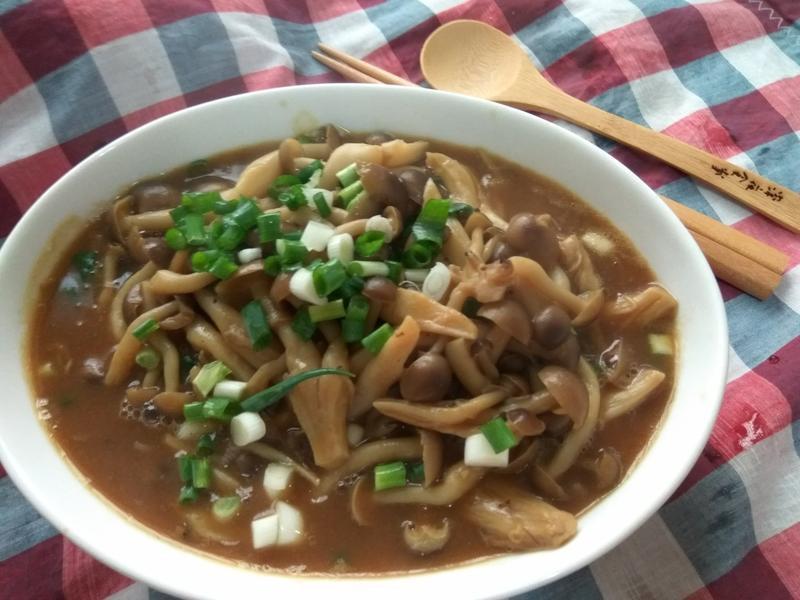 5分鐘上菜─鴻喜咖哩菇