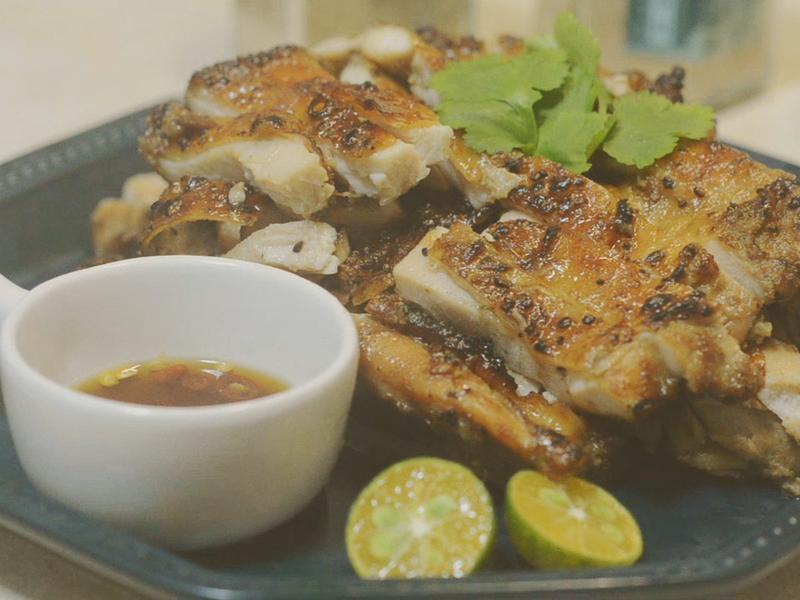 泰北菜餚∣泰式香料烤雞腿