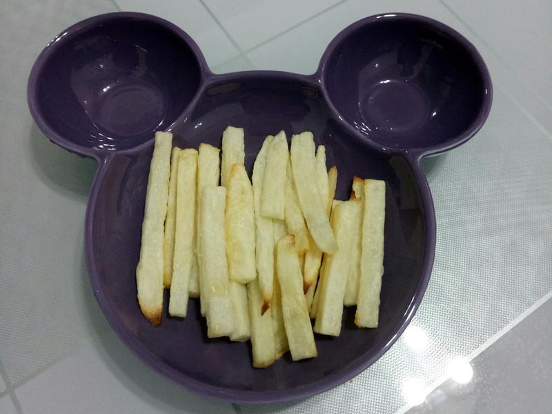 小孩手指食物,免油炸薯條