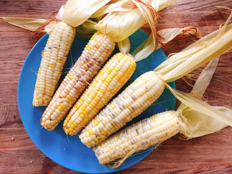 蒸玉米~超甜超好吃!