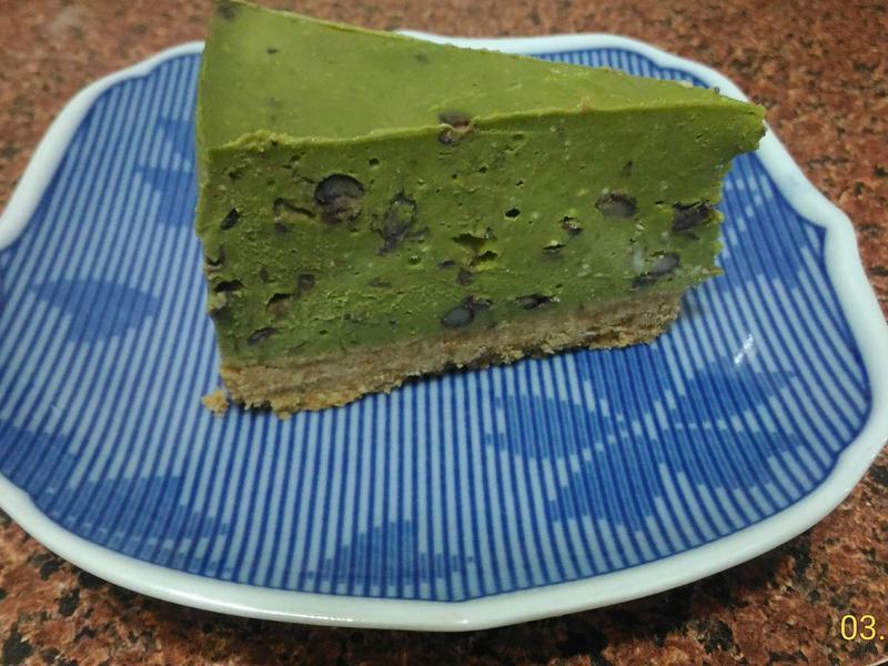 (免烤)抹茶紅豆乳酪蛋糕🌿🎂