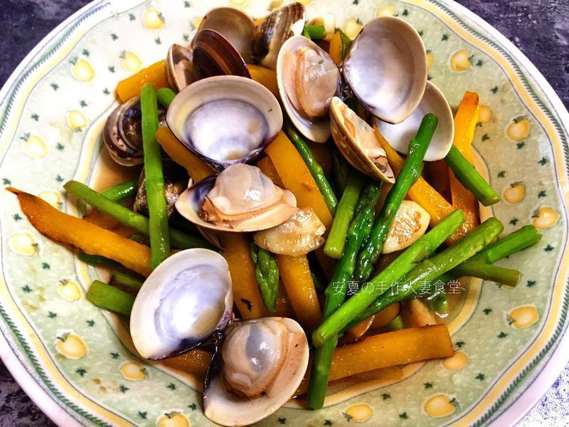 家常料理【鮮蔬蛤蠣】
