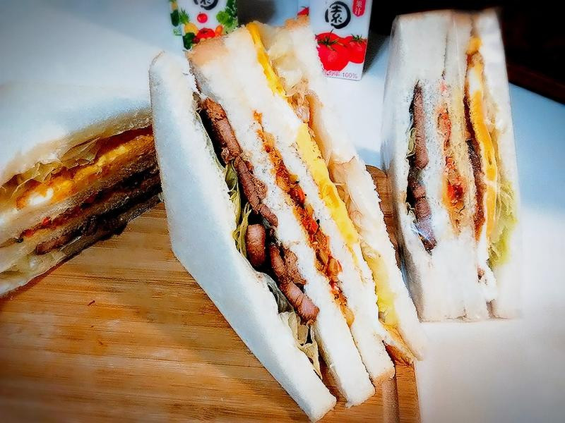 韓味烤肉三明治