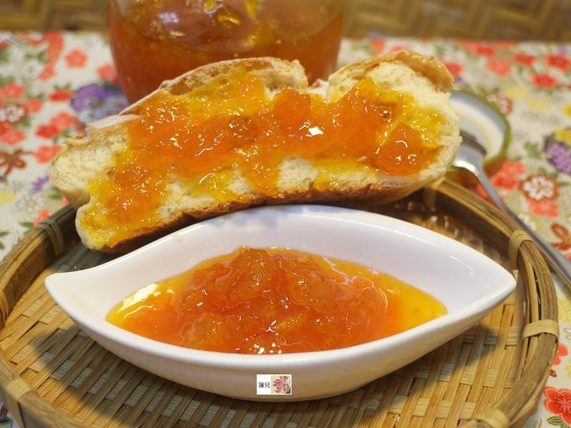 超濃郁的橘子醬