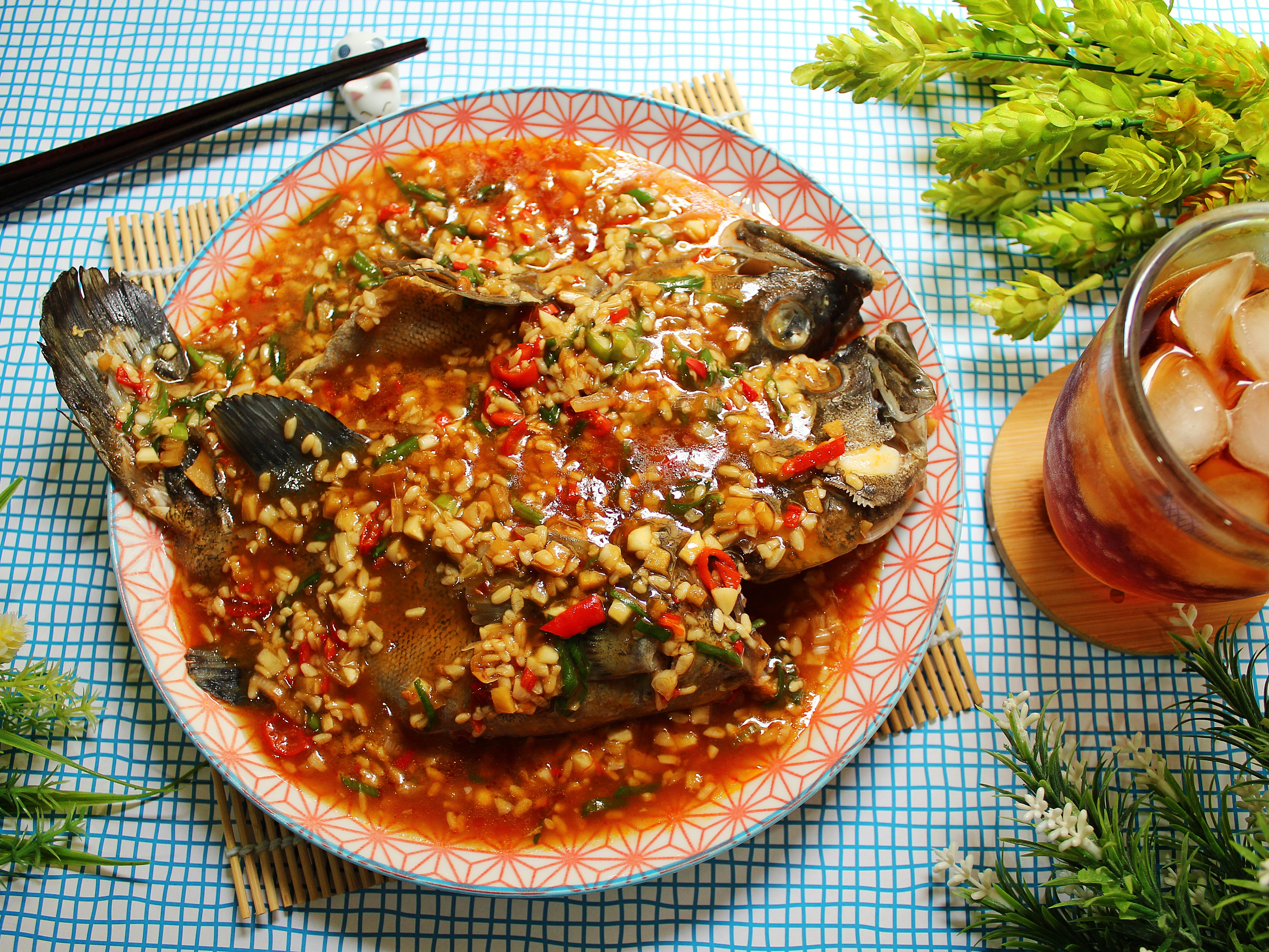 酒釀豆瓣石班魚