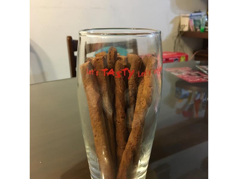 [幼兒食譜] 黑糖牛奶棒(寶寶磨牙餅)