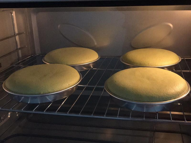 抹茶戚風蛋糕