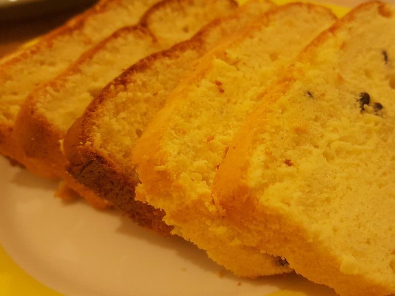 百香果海綿蛋糕