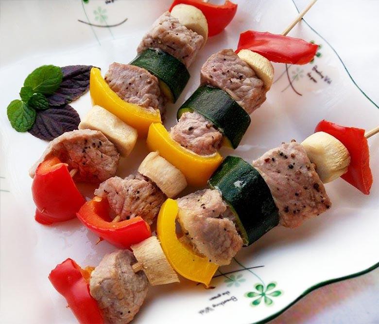 自我流「水水肉串烤」健康、低脂的豬肉串烤