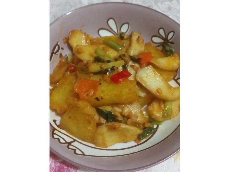 茄味杏鮑菇(媽媽手作幸福料理)