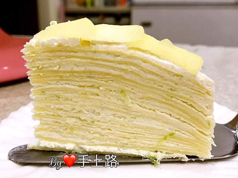 🍋檸檬千層蛋糕🍋(8吋)