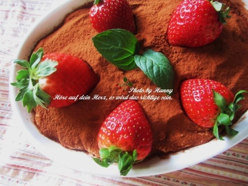 ♥開動 with Kat♥草莓提拉米蘇[不需烤箱]
